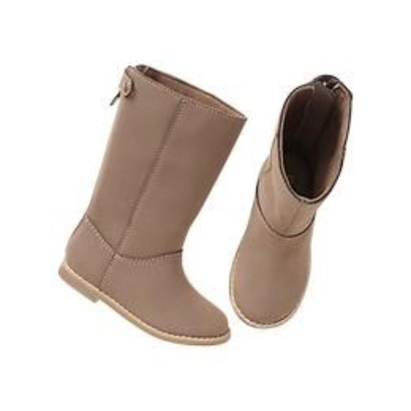 GAP Other - Gap girls long brown riding boots.